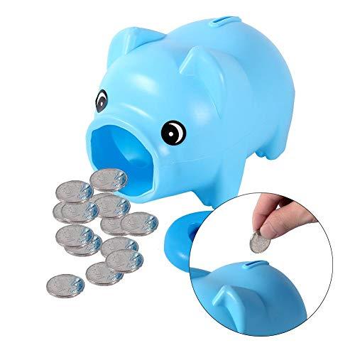 Piggy Coin Bank Cute Plastic Piggy Bank Coin Money Cash Collectible Saving Box Pig Toy Kids Gift Random Color
