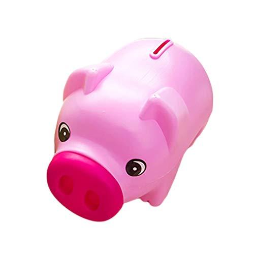 Plastic Piggy - Arrival Portable Cute Plastic Piggy Bank Saving Cash Coin Money Box Children Toy Kids Gifts Home - Bank Girls Banks Kids Color Pink Plastic Children Large Clear Boys Coin Piggy Bulk