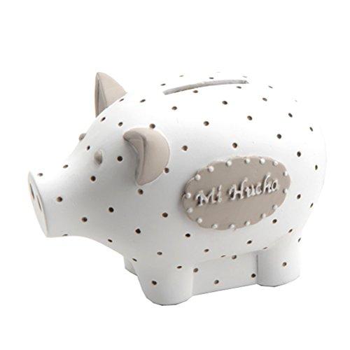 White Piggy bank