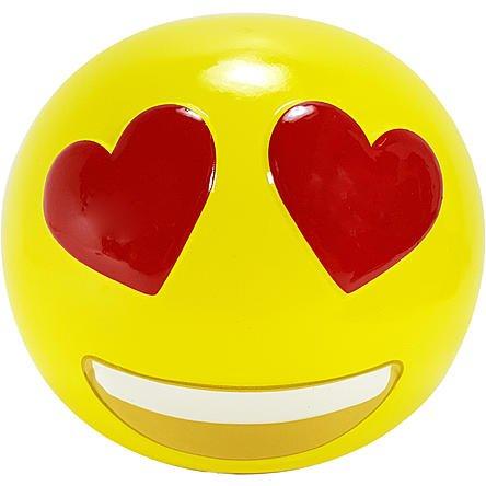 Heart Eyes Emoji Ceramic Coin Bank Giftables