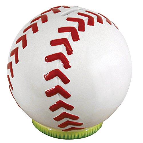 Stephan Baby Sports Fun Collection Ceramic Bank Baseball