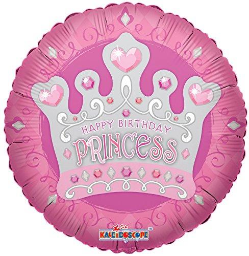 Kaleidoscope Kaleidoscope Princess Tiara Foil Mylar Balloon 5 Piece