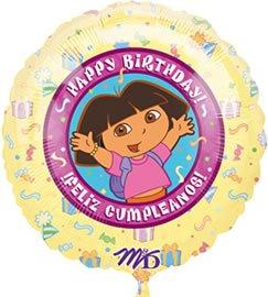 Dora the Explorer Birthday 18 Foil Balloon