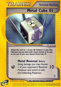Pokemon - Metal Cube 01 129 - Aquapolis - Reverse Holo