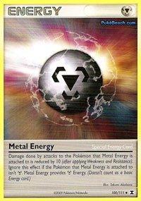 Pokemon - Metal Energy 100 - Rising Rivals - Reverse Holo