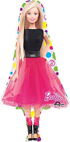 LoonBallon 42 Inch Barbie Balloon Medium Shape 5 Pieces