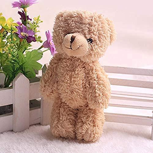 LFSLAS Plush Toy Mini Joint Ted Bear Plush Toy Stuffed Animal 12cm Teddy Bears Stuffed Plush Pendant Kids Toy Wedding Gifts