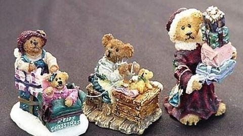 Ted E Bear Shop Lizzy Shopalot Bo Holly All Wrapped Up Ted E Bear by Boyds Ted E Bear