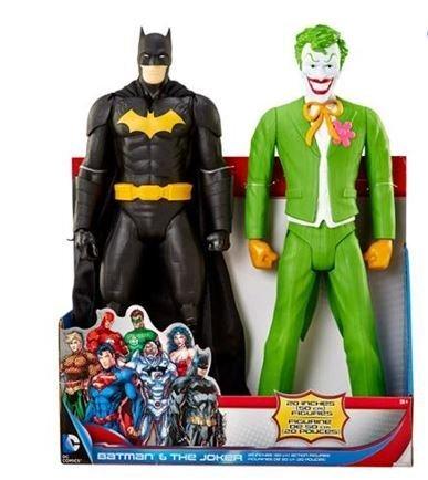 Dc Comics Batman the Joker 20 Action Figure 2 Pack