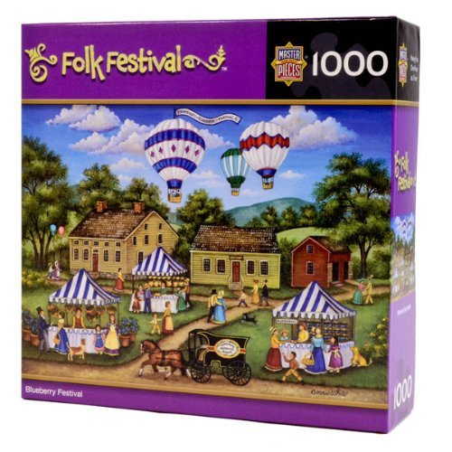 Masterpieces Blueberry Festival Puzzle by MasterPieces