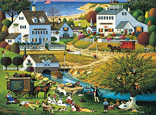 Buffalo Games Charles Wysocki  The Hound of the Baskervilles - 1000 Piece Jigsaw Puzzle by Buffalo Games