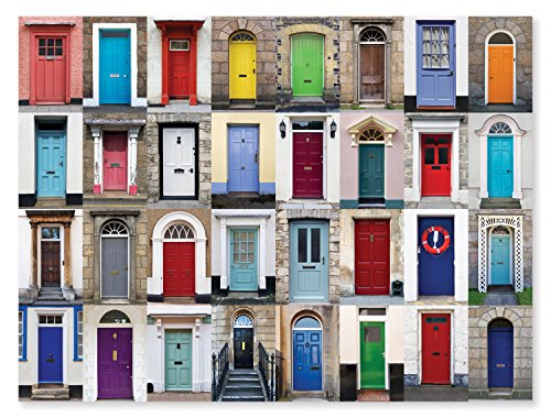 Melissa Doug 1000-Piece Knock Knock Doorways Jigsaw Puzzle 29 x 23 inches