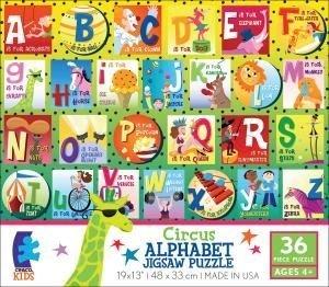 Circus Alphabet Jigsaw Puzzle by Ceaco