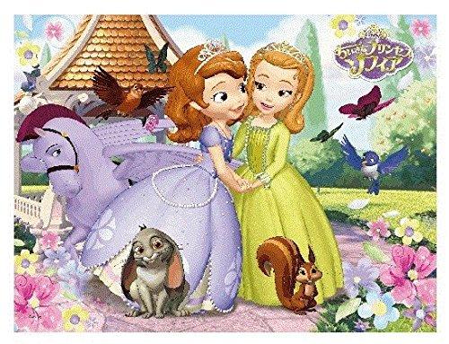 48 piece 3D magic jigsaw puzzle little Princess Sophia Sophia and amber lenticular