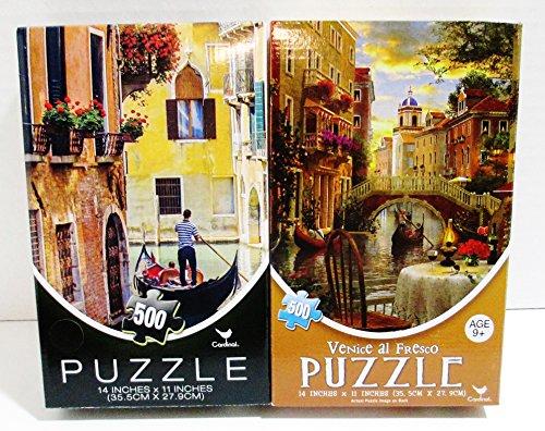 2 Cardinal 500 Puzzles - Brian Jannsen Photography Venice Al Fresco