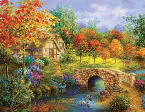 Autumn Beauty a 3000-Piece Jigsaw Puzzle by Sunsout Inc