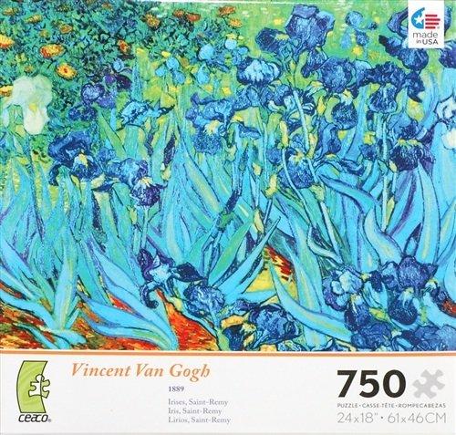 Ceaco Vincent Van Gogh Irises 750 Piece Jigsaw Puzzle