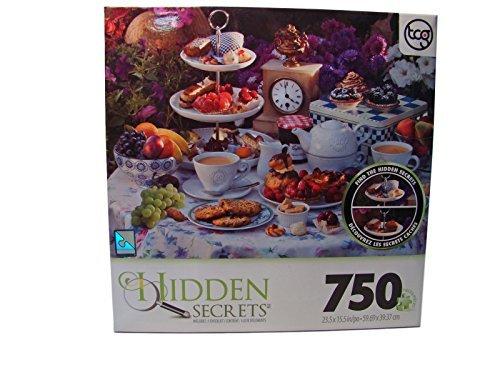 Hidden Secrets 750 Piece Jigsaw Puzzle Tea For Two