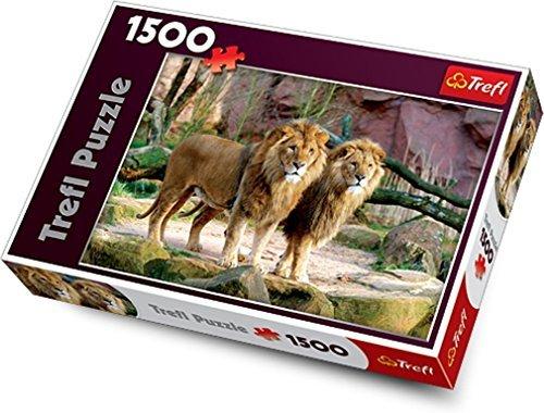 Trefl Lions Jigsaw Puzzle 1500 Piece by Trefl