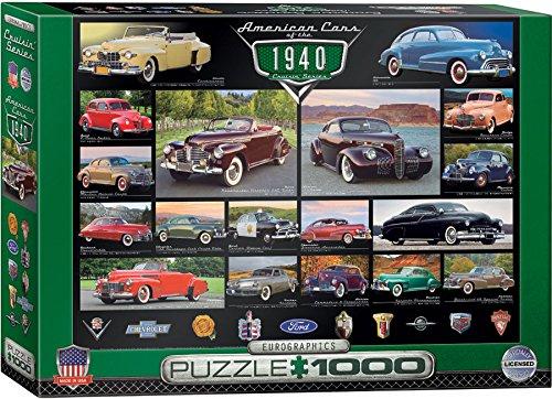 EuroGraphics 1940s Cruisin Classics Jigsaw Puzzle 1000-Piece