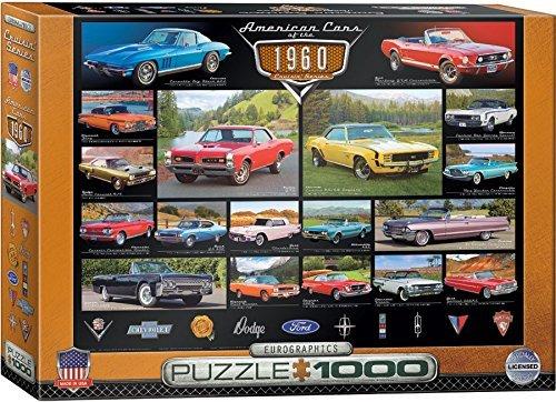 EuroGraphics 1960s Cruisin Classics Jigsaw Puzzle 1000-Piece by EuroGraphics