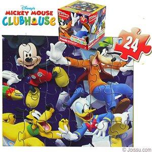 Disneys Mickeys Clubhouse Cube Jigsaw Puzzles