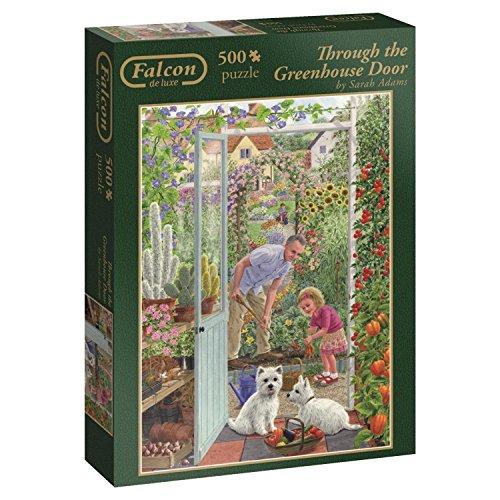 Jumbo Through The Greenhouse Door Jigsaw Puzzle 500 Piece