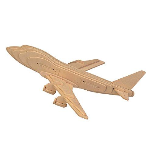 Smilelove 3D Wooden Puzzle--Plane Jigsaw Puzzle