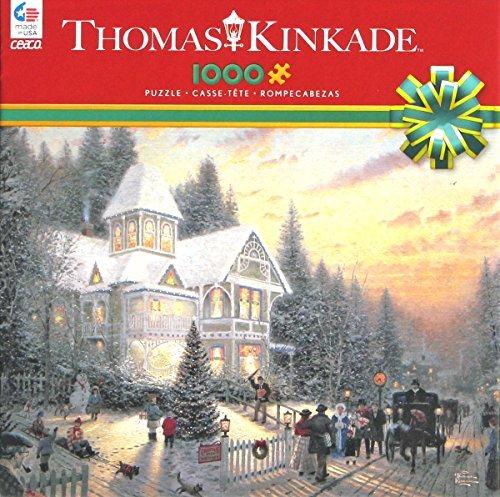 Ceaco Thomas Kinkade Victorian Christmas Puzzle 1000 Piece