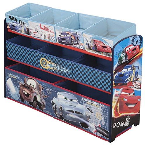 Delta Children DisneyPixar Cars Deluxe Multi-Bin Toy Organizer