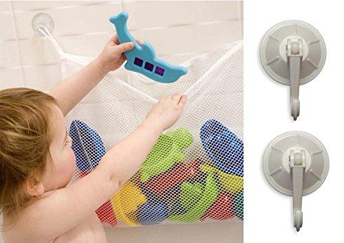 Lacasa Bath Toy Storage Bag - Bath Toy Organizer and Holder with 2 Bonus Suction Cups