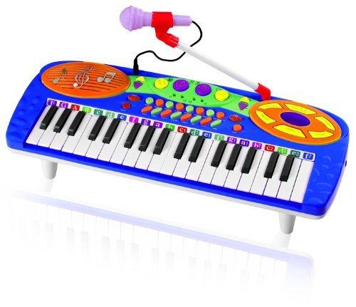 Kids Authority 37 Keys standard Kids Keyboard  Piano with Microphone by Kids Authority