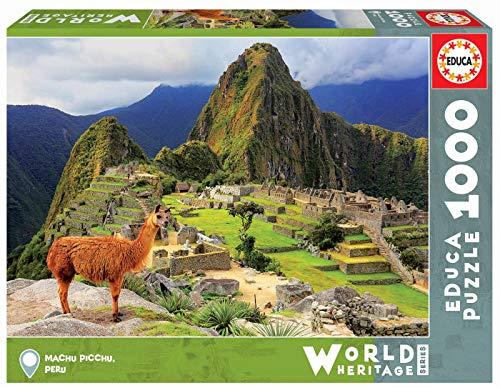 Educa 1000pc Puzzle Machu Picchu Peru