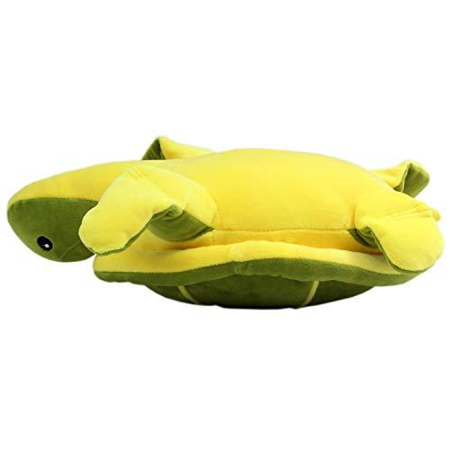 Tacumo Ultra Soft Sea Turtle Plush Toy Stuffed Animals for Kids Dark 18in