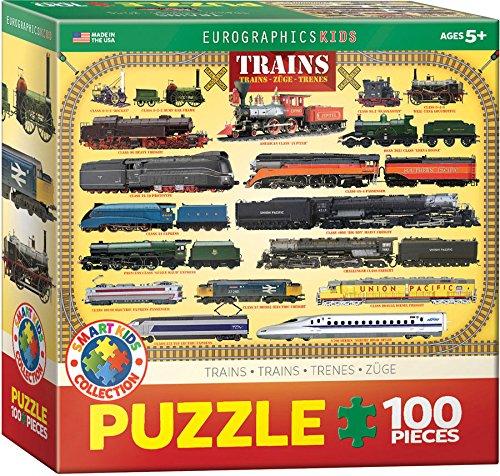 Trains 100 Piece Jigsaw Puzzle
