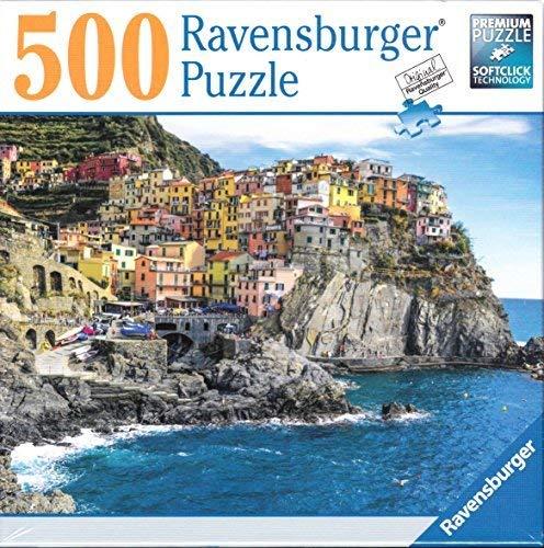 Ravensburger Cinque Terre Sunshine 500 piece puzzle