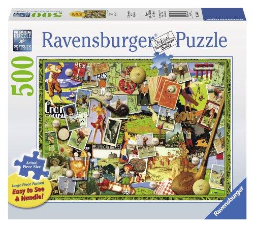 Ravensburger Lets Golf Large Format Jigsaw Puzzle 500-Piece