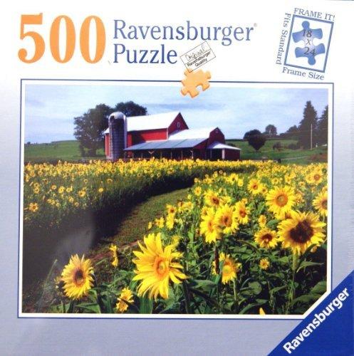 Ravensburger Puzzle Sunflowers 500 Piece Jigsaw Puzzle