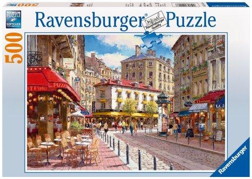 Ravensburger Quaint Shops 500 Piece Puzzle by Ravensburger