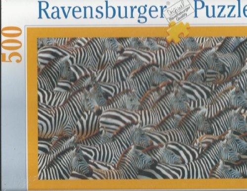 Ravensburger Zebra Crossing - 500 Piece Puzzle