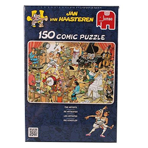 Jumbo The Artists 150 Piece Puzzle