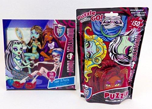 Monster High Lenticular Super 3D 150 Piece Puzzle 150 Piece Puzzle to Go