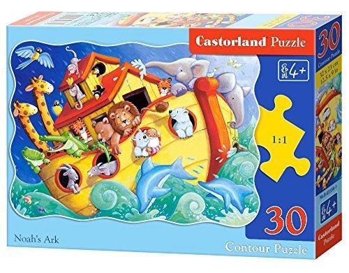 Castorland B03556 Midi Noahs Ark Jigsaw Puzzle 35-Piece by Castorland