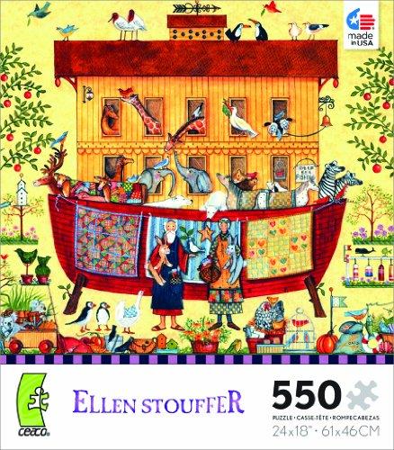 Ellen Stouffer Noahs Ark Jigsaw Puzzle