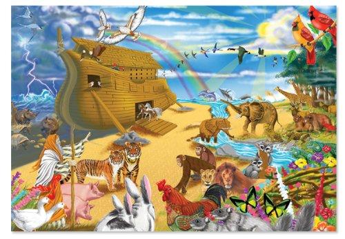 Melissa Doug Noahs Ark Jigsaw Puzzle 200-Piece