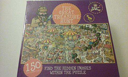 David Anson Russo The Great Treasure Hunt 150 Piece Jigsaw Puzzle