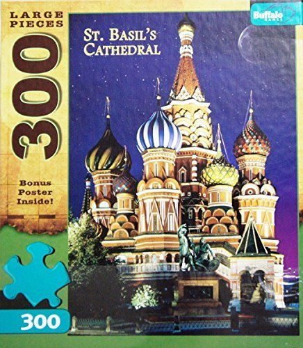 St Basils Cathedral MOSCOW RUSSIA 300 Large Pieces Jigsaw Puzzle MADE IN USA