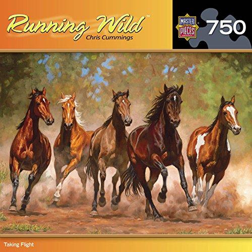 Masterpieces Running Wild Puzzle Taking Flight 750 Piece Puzzle