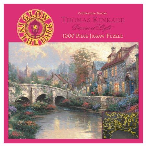 1000 Piece Thomas Kinkade Glow Puzzle