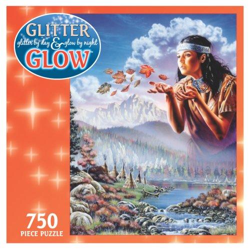 750 Piece Glitter Glow Puzzle